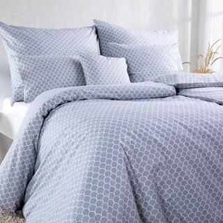 Bavlnené kombinovateľné obliečky ŠUPINY šedá