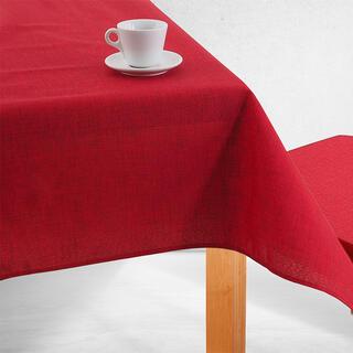 Jednofarebný obrus BESSY červený