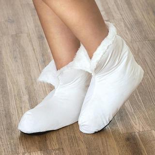 Hrejivé papuče s perím