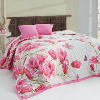 Prikrývka na posteľ Alize Pink ružová