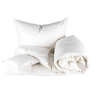 Prešívaná posteľná súprava s perovou výplňou