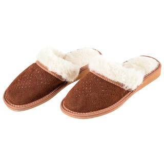 Dámske papuče s ovčou vlnou