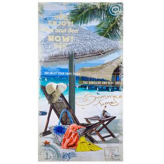 Plážová osuška LEHÁTKO 70 x 140 cm