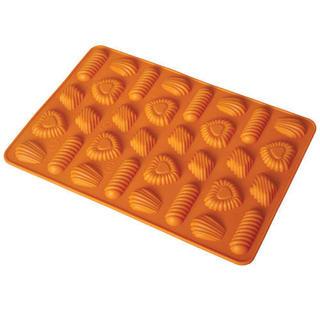 Silikónová forma na pečenie koláčov - mix tvarov