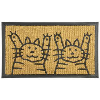 Kokosová rohožka DVE MAČKY 40 x 70 cm