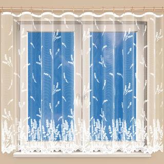 Hotová žakárová záclona MARIANA BIELA 350 x 160 cm