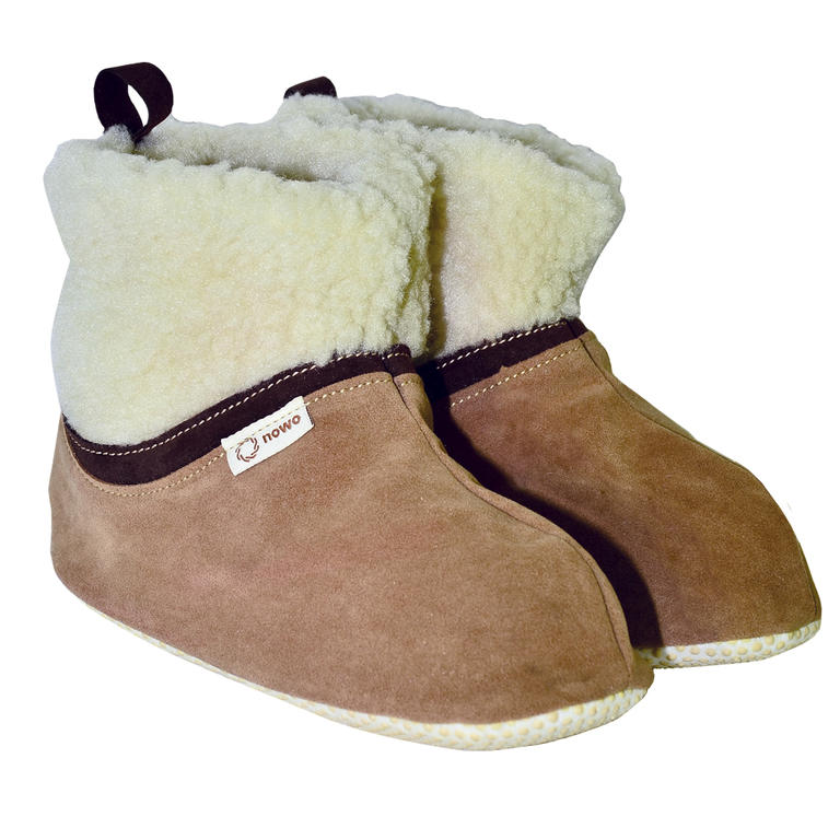 Domáca obuv z ovčieho rúna veľ. 39