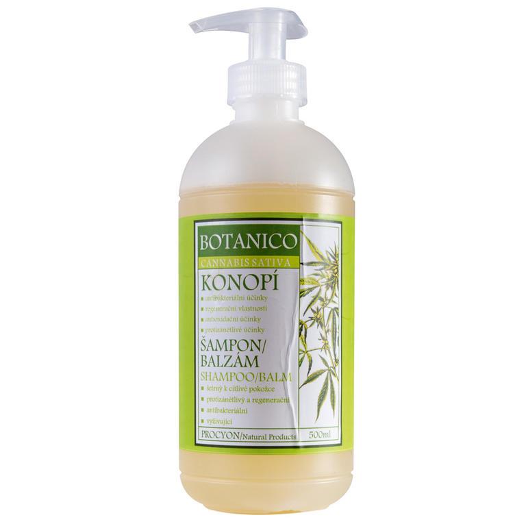 Prírodný šampón a kondicionér 2v1 z konope