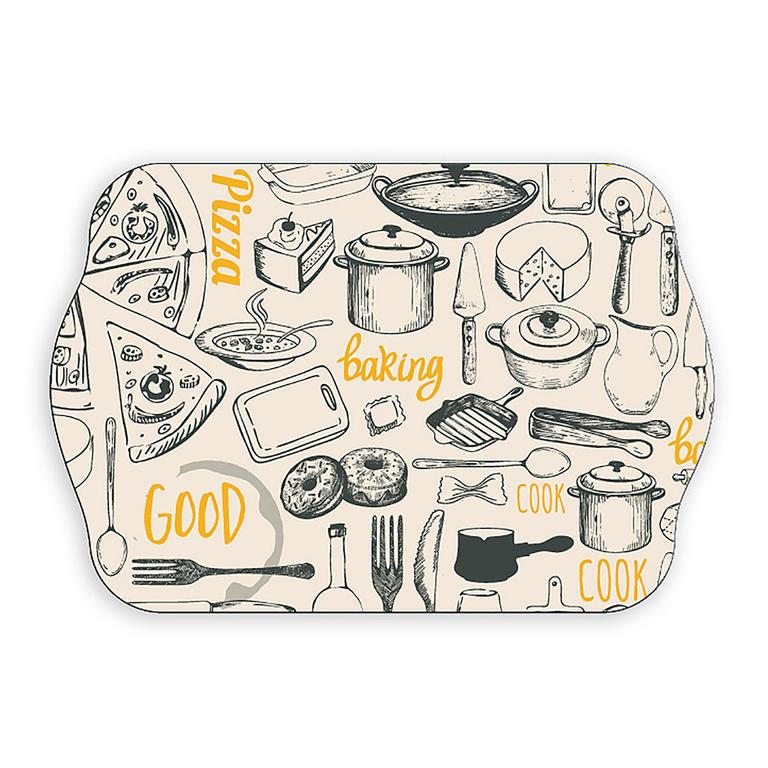 Melanínová tácka sandwich Retro kitchen, BANQUET