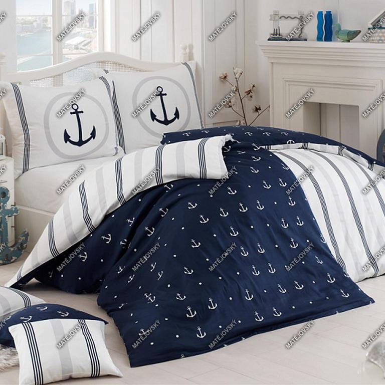 Matějovský posteľné obliečky Neptun bavlna predĺžená dĺžka
