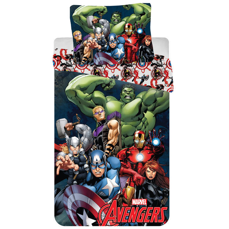 Detské posteľné obliečky Avengers