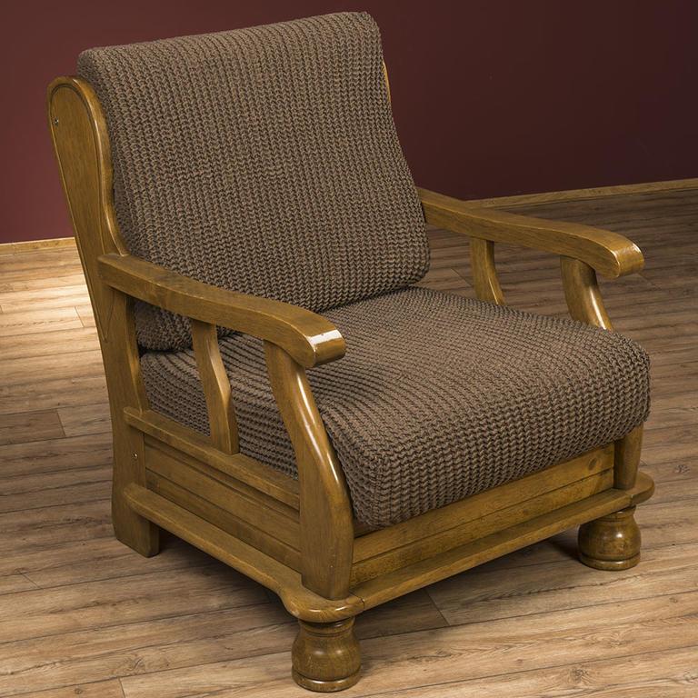 Super strečové poťahy GLAMOUR tabaková rohová sedačka (š. 350 - 530 cm) - 5